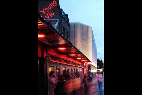 Young Vic Theatre by Haworth Tompkins